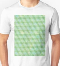 Green rhomb tape and water color - OneMandalaAday T-Shirt