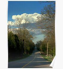 Rural Canada...........in Spring. Poster