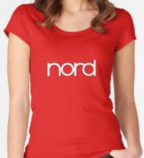 Wonderful Nord  Synth Women's Fitted Scoop T-Shirt