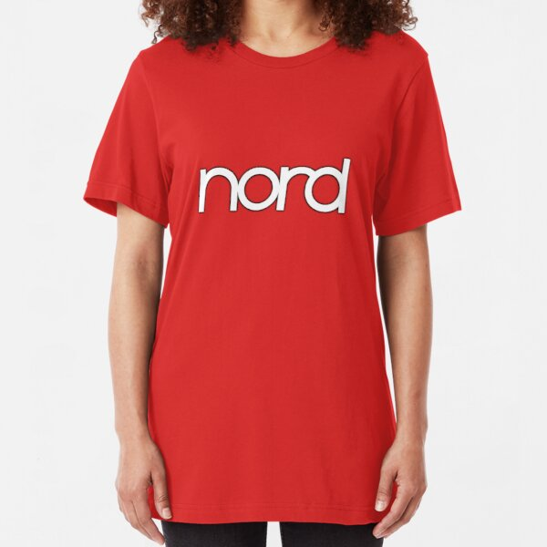 Wonderful Nord  Synth Slim Fit T-Shirt