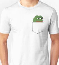 Sad Pocket Pepe Unisex T-Shirt
