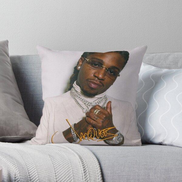 Fourjaq King of R & B American Tour 2019 2020 Throw Pillow