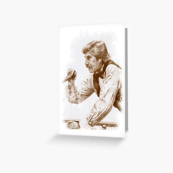 Cliff Thorburn Greeting Card