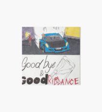 Juice WRLD Goodbye & Good Riddance Art Board Print