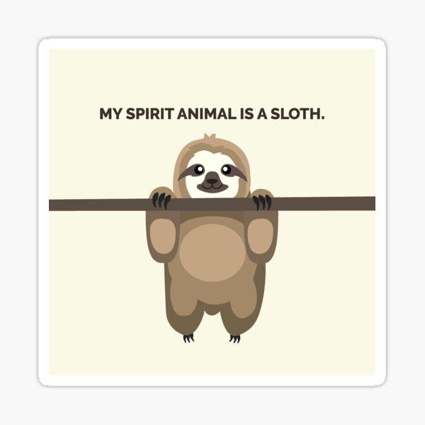 Sloth spirit animal Sticker