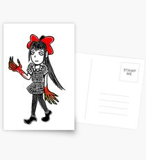 Little Princess Monster Hands Postcards