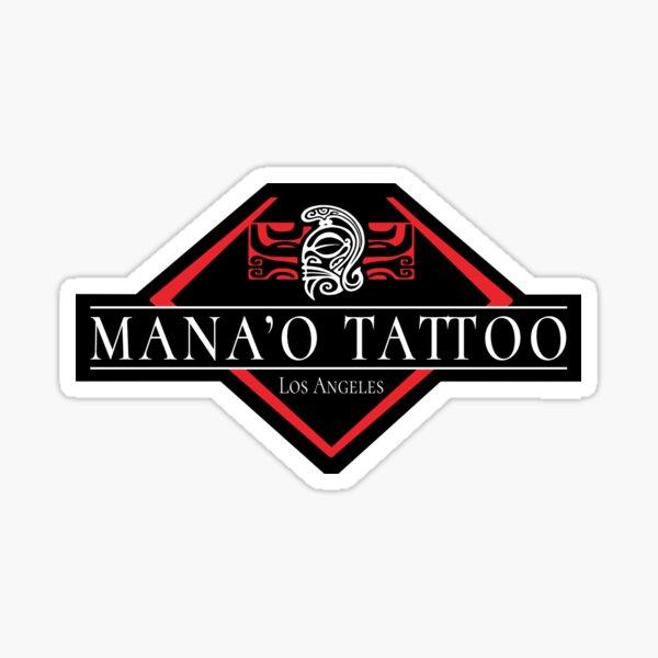Mana'o Tattoo Los Angeles Sticker