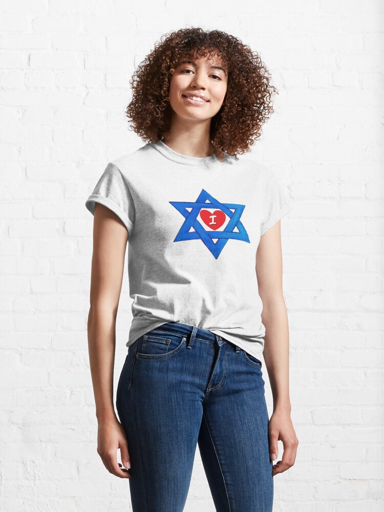Alternate view of I LOVE ISRAEL Classic T-Shirt