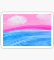 Soothing Seas Sticker