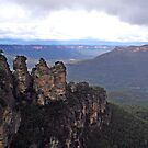 Three Sisters at Katoomba NSW  by Suzy  Baines