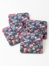 Red and Black Currant Coasters