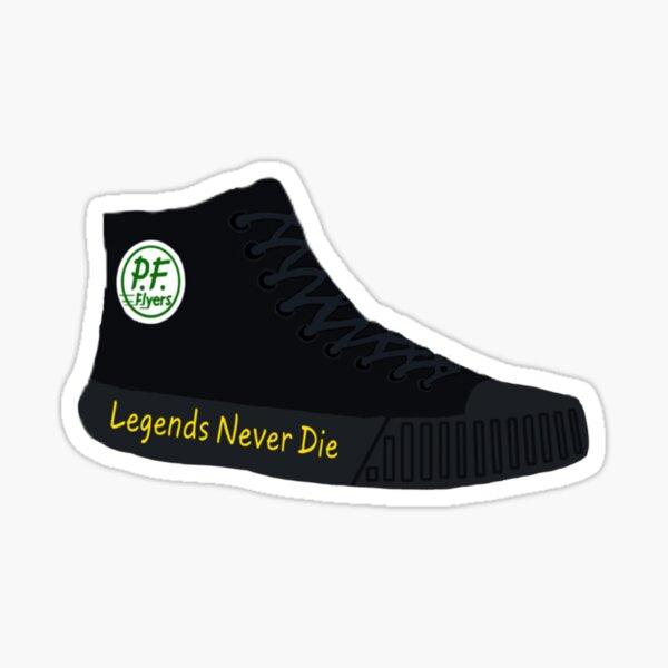 Sandlot Legends Never Die PF Flyers Sticker