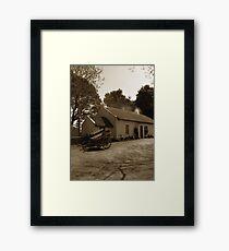 Rural Heartland Ireland Framed Print