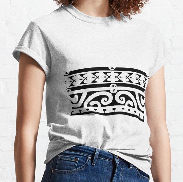 Tahitian tattoo design Classic T-Shirt