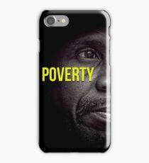 Beautifull Black & White Portrait Homeless Poverty  iPhone Case/Skin