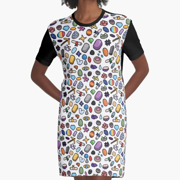 Mining Bundle Graphic T-Shirt Dress