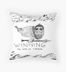 Seal Power Throw Pillow