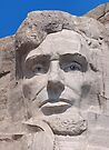 Abraham Lincoln, Mount Rushmore National Memorial .2 by Alex Preiss