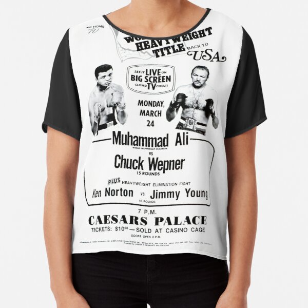 Boxing and Boxers: Mythical Fight Chiffon Top