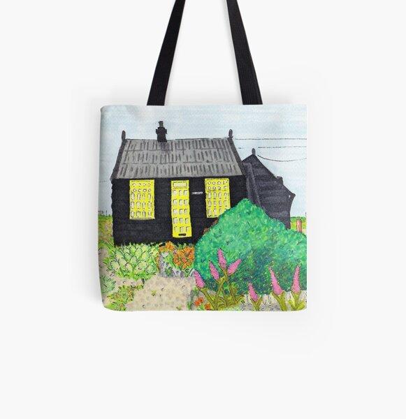 Prospect Cottage - Derek Jarmans Cottage - Dungeness, Kent All Over Print Tote Bag