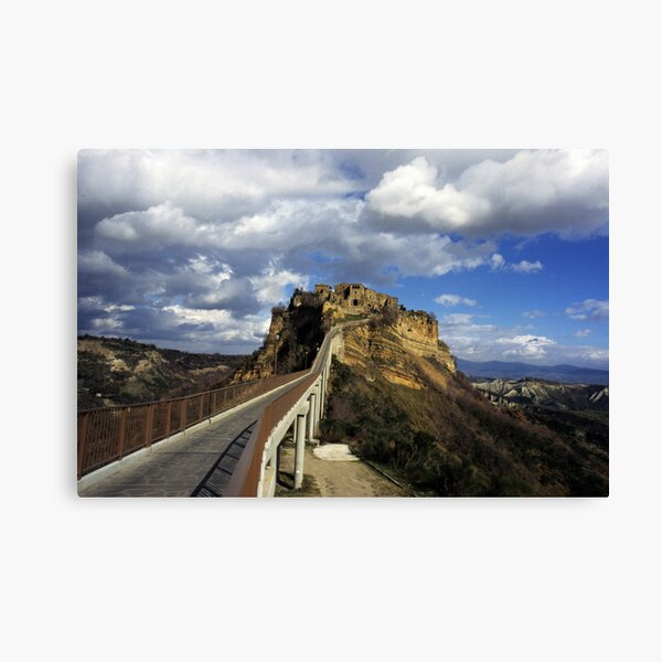The dying city Canvas Print
