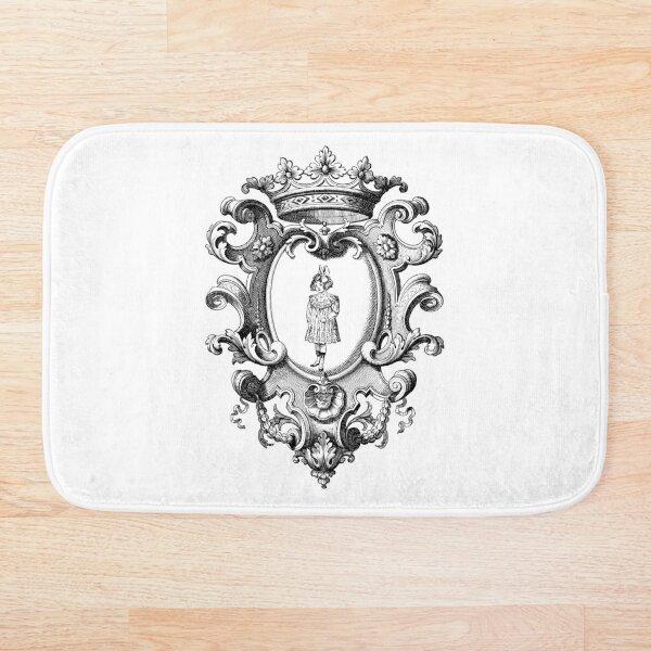 Princess Queen Vintage Design. Bath Mat