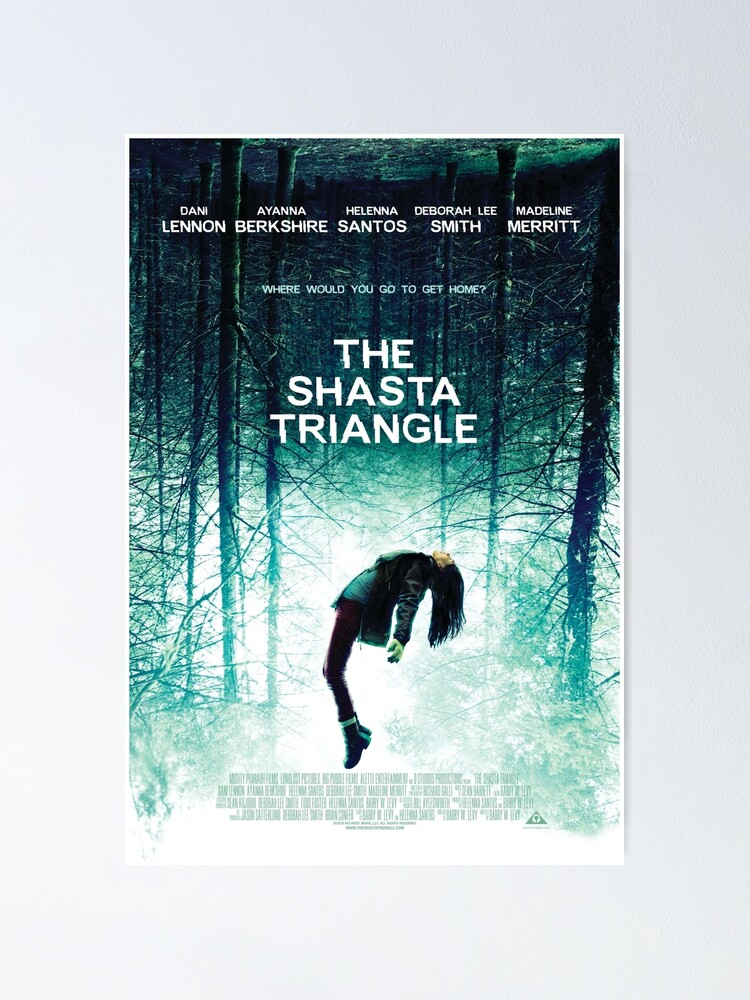 Alternate view of Shasta Triangle Poster Merch! Poster