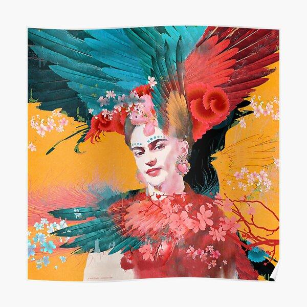Frida Kahlo Tribute 01 Poster