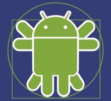 Android Vitruvian Man