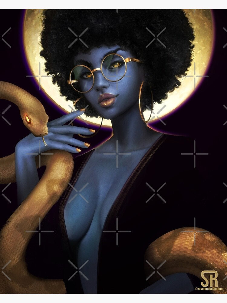 Afro Eclipse by Sebray