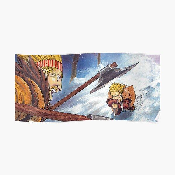 Vinland Saga - Thorkell vs Thorfinn Poster