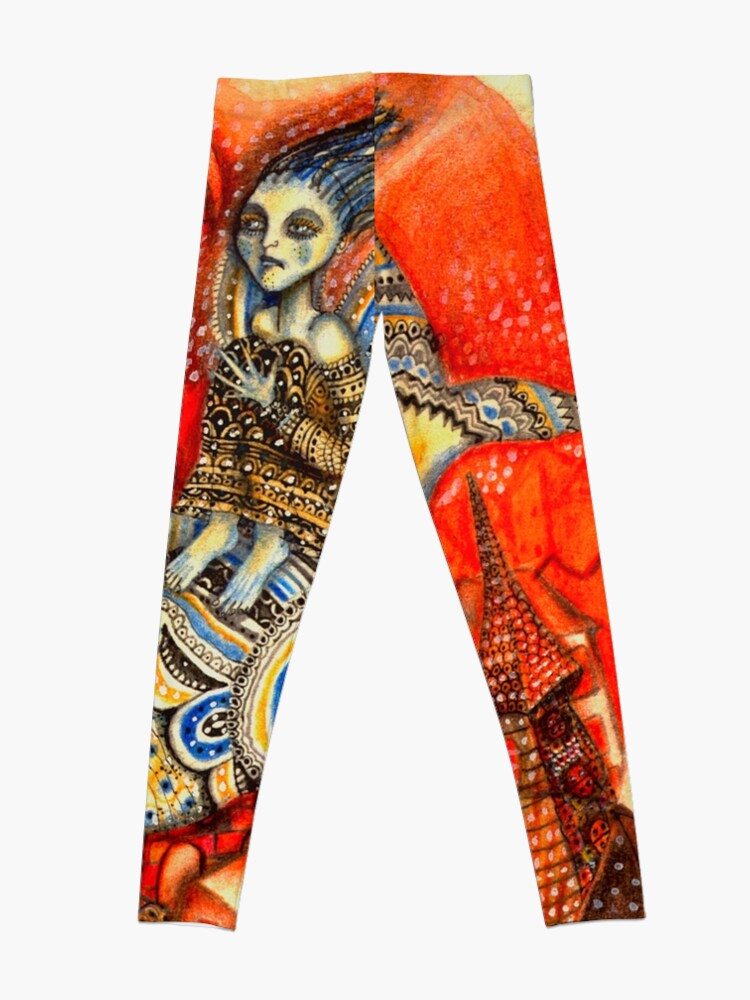 Alternate view of Ballena codorniz Leggings