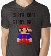 Super Cool Story Bro. (Mario) T-Shirt