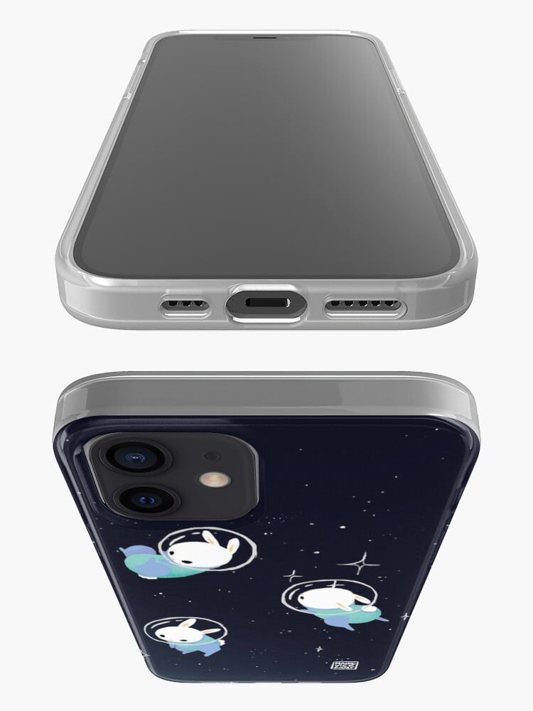 Alternate view of Space Bunnies iPhone Case & Cover