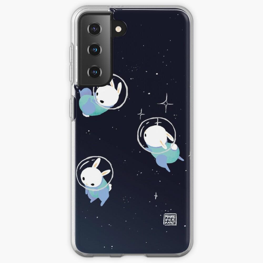 Space Bunnies Case & Skin for Samsung Galaxy