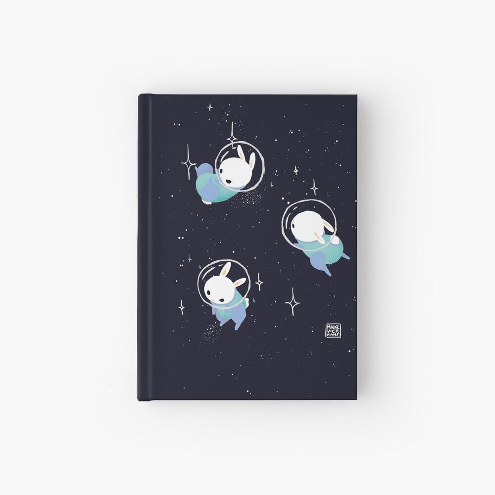 Space Bunnies Hardcover Journal