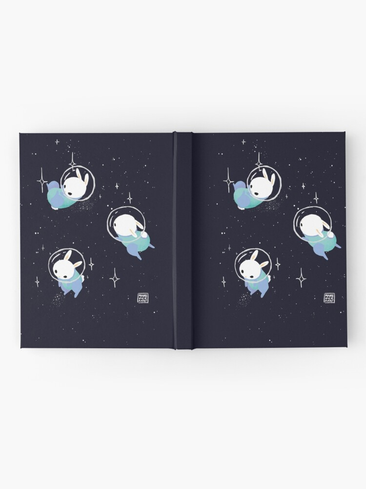 Alternate view of Space Bunnies Hardcover Journal