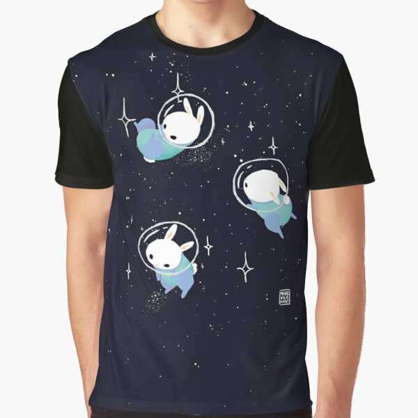 Space Bunnies Graphic T-Shirt