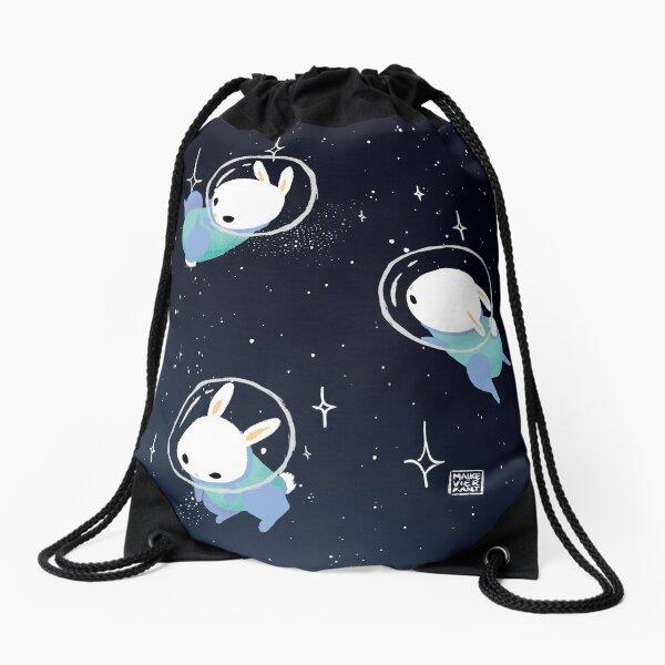 Space Bunnies Drawstring Bag