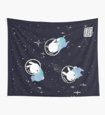 Space Bunnies Wall Tapestry
