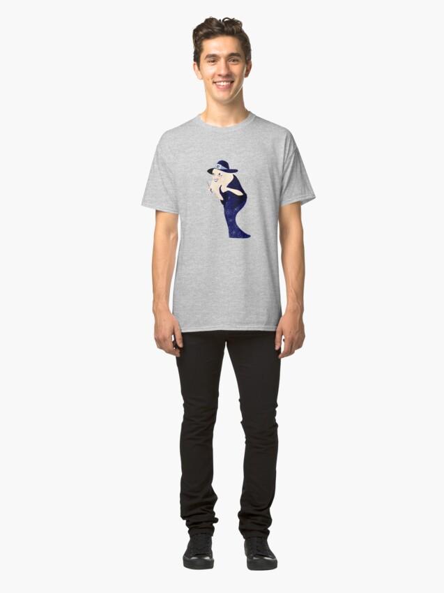 T-shirt classique ''Sorcière Âgée': autre vue