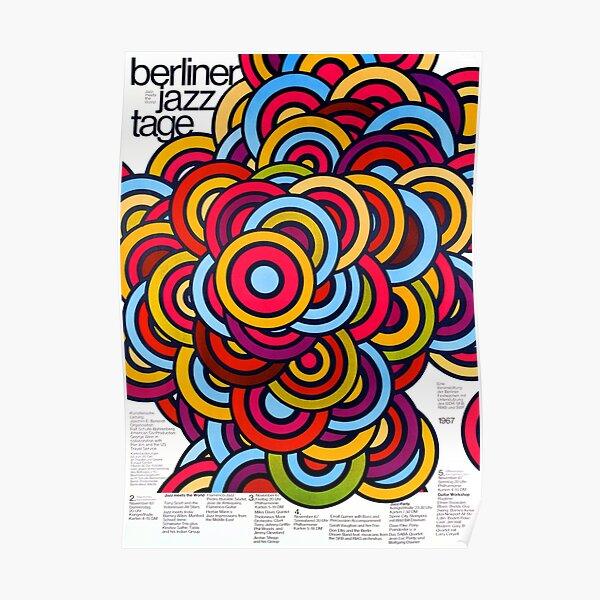 Berlin Jazz Festival 1967 Poster