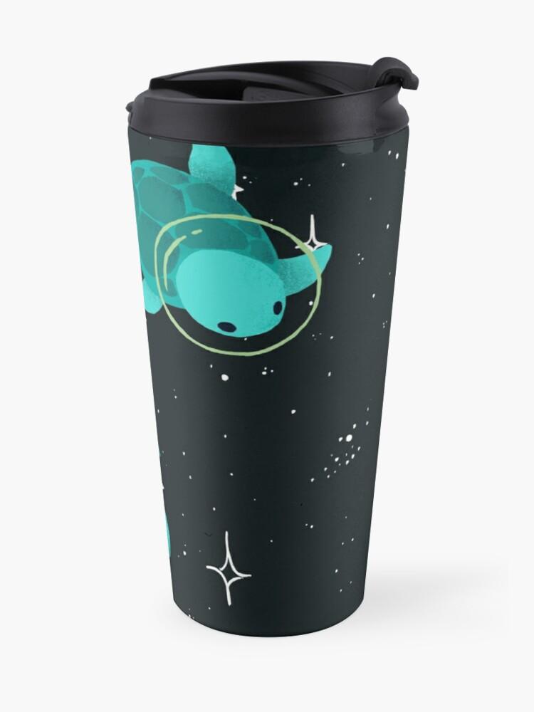 Alternate view of Space Turtles Travel Mug