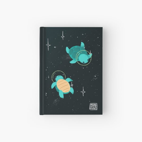 Space Turtles Hardcover Journal