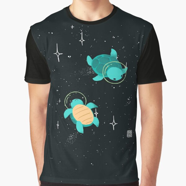 Space Turtles Graphic T-Shirt