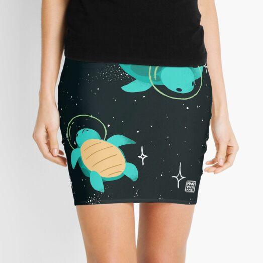 Space Turtles Mini Skirt