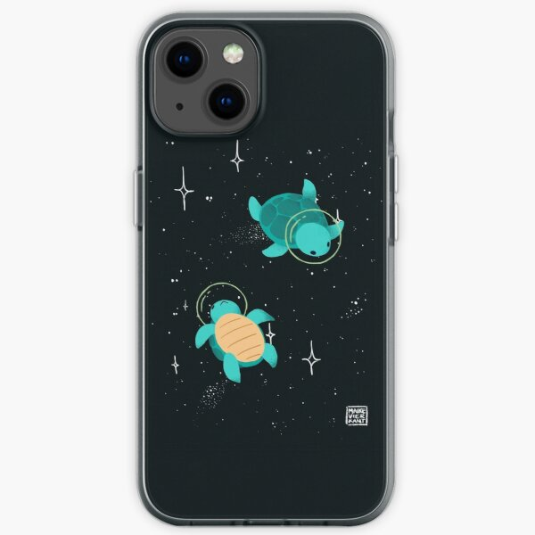 Space Turtles iPhone Soft Case