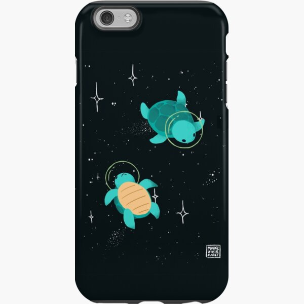 Space Turtles / Weltraumschildkröten iPhone Robuste Hülle