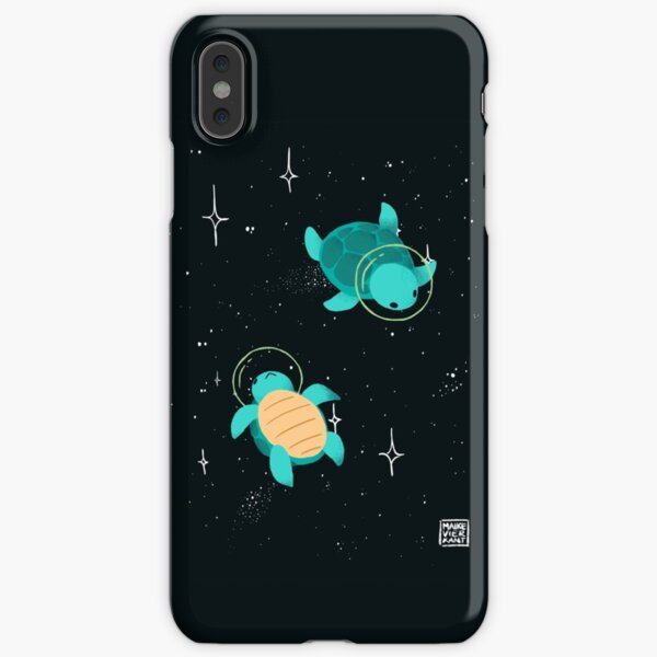 Tortues spatiales / tortues spatiales Coque rigide iPhone