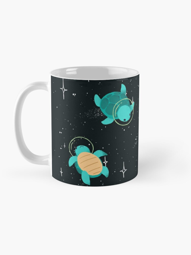 Alternate view of Space Turtles Mug